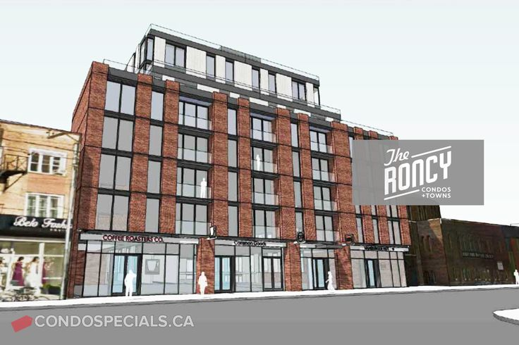 The Roncy Condos + Townes is the newest development project by Worsley Urban Partners located on the northwest side of Roncesvalles Avenue at Howard Park. Book your space here today.  #TheRoncyCondos