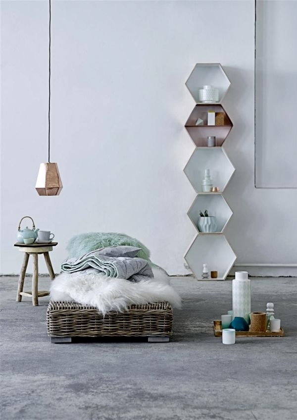 stacked shelving concept.