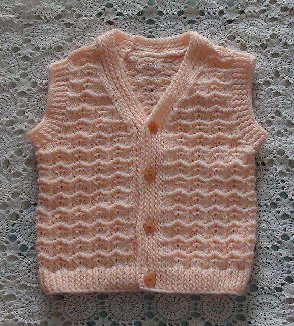 Ravelry: thuha09's baby vest