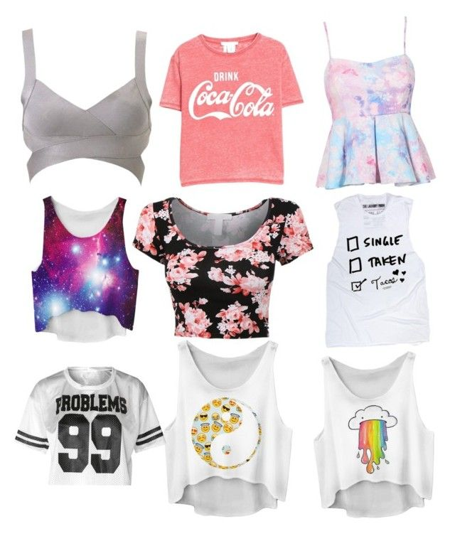 """""""9 tops every girl needs"""" by ingrid-saeterdalen on Polyvore featuring MANGO"""