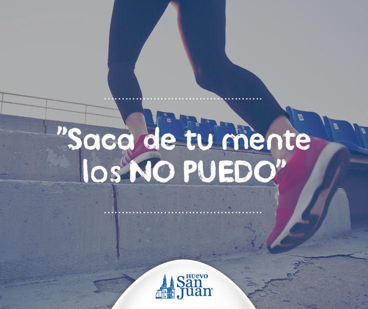 ¡Piensa positivo! #motivación #fitness #muévete