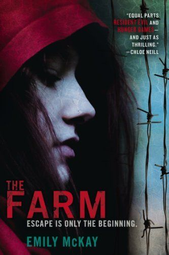 The Farm by Emily McKay, http://www.amazon.com/gp/product/B008JHXONQ/ref=cm_sw_r_pi_alp_Lto4qb0J1VBMR: Worth Reading, Books Covers, Twin Sisters, Emily Mckay, Books Worth, Electric Fence, Reading Lists, Young People, Books Review