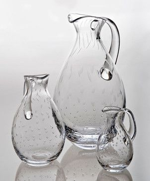 houzz.com /Seeded-Dewdrops-Pitcher-transitional-pitchers $40