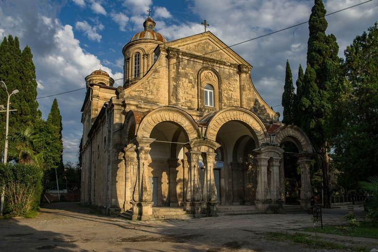 Eine wunderschöne Orthodoxe Kirche in Kutaisi/Georgien entdeckt auf unserer Urbexplorer Fotoreise