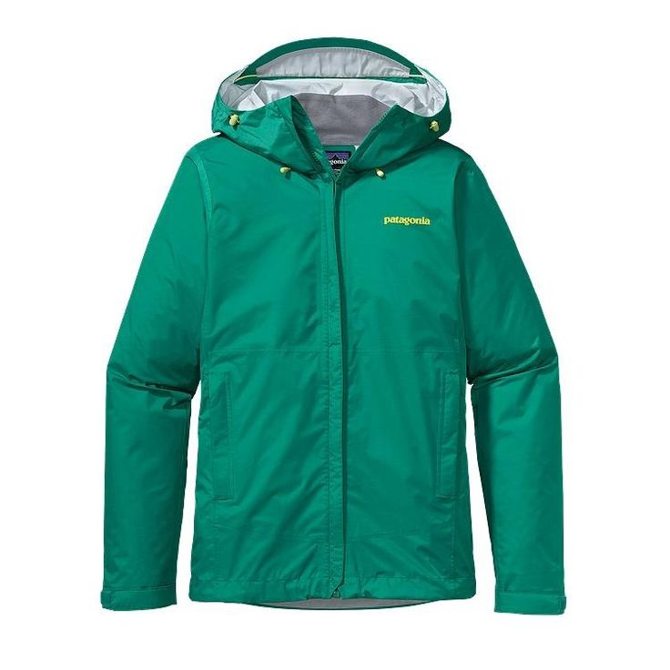 Emerald Patagonia Rain Jacket: Backcountry Gear company
