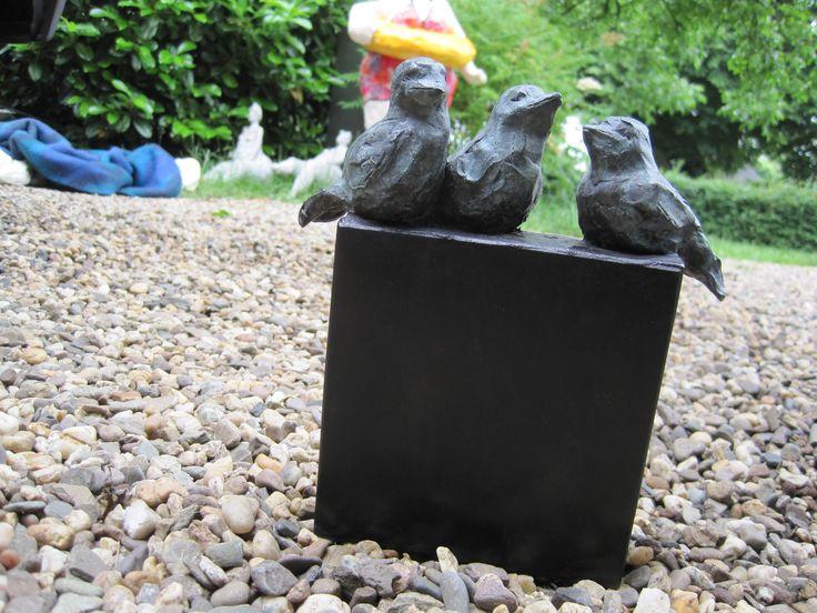 21 beste afbeeldingen van vogels in brons brons en tuinkunst for Schilderij buiten intratuin