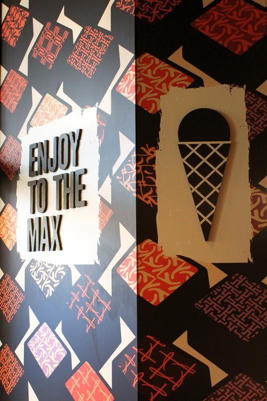 Max Brenner  #Shop #Chocolate #Chocolatier #Retail #Design #Graphic #Illustration #Sweet #Candy