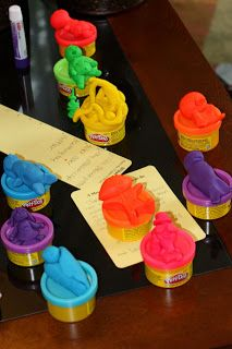 Give the guests some Play-Doh in a variety of colors. Set a timer for five minutes and have them sculpt a baby to the best (or worst!) of their ability. The mother-to-be can judge which one she likes best in different categories, like most realistic, most creative, most disturbing, and most silly.