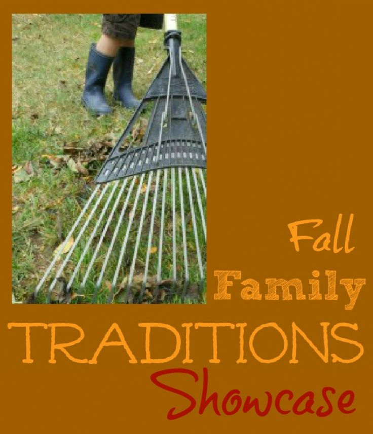 Fall Family Traditions Showcase