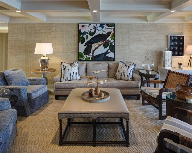 Cream And Navy Blue Living Room Coastal Color Scheme Living Room Neutra Coastal Living Room