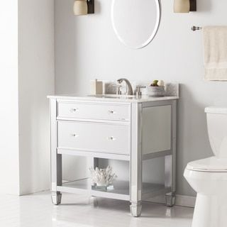 Shop for Harper Blvd Sutcliffe Marble Top Bath Vanity Sink. Get free delivery at Overstock.com - Your Online Furniture Outlet Store! Get 5% in rewards with Club O!