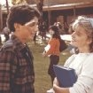 Still of Elisabeth Shue and Ralph Macchio in The Karate Kid