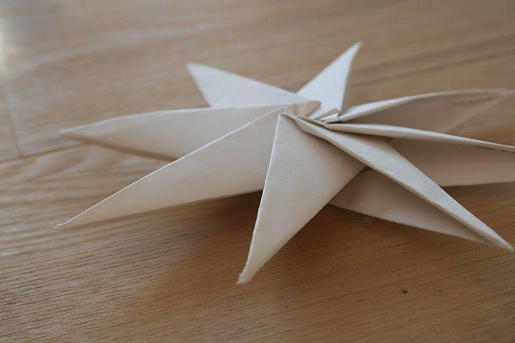 DIY : Décorations de Noël en papier