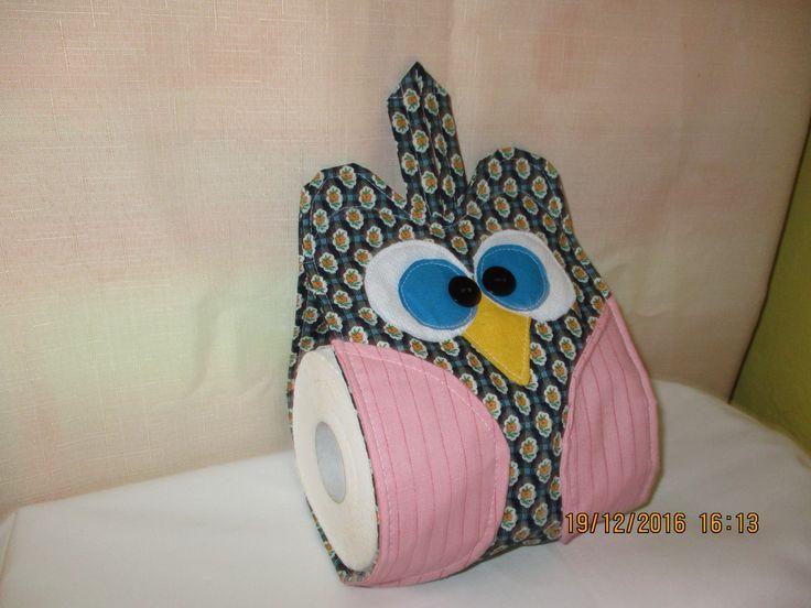 textilní pouzdro na toaletní papír