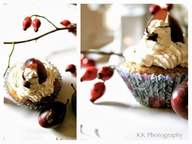 Pflaumen-Zimt-Cupcakes
