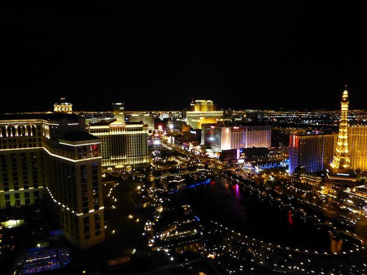 Vegas Strip Night Sky Las Vegas Gambling Nevada