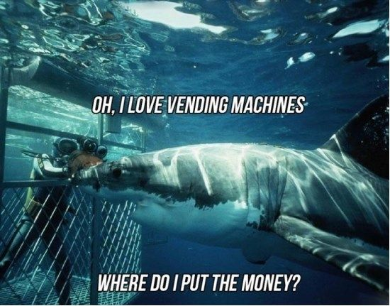 Shark Vending Machine