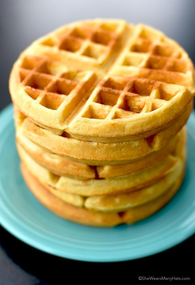 Beer Cornbread Waffles Recipe