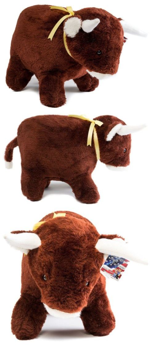 Pillow Pals 1633: Stuffed Baby Bull -> BUY IT NOW ONLY: $34.95 on eBay!