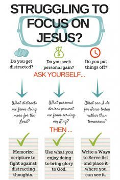Focus on Jesus: 3 Questions That Put Your Focus Back on Him