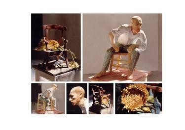 "Saatchi Art Artist Monika Hafner; Sculpture, ""Vincent's chairs"" #art"