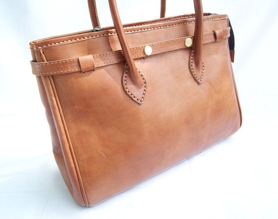 Woman Leather Bag Brown Retro Classic by CoruscateLeatherBag, $190.00