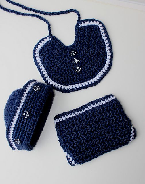 Free Knitting Pattern Baby Sailor Hat : 1000+ images about Crochet patterns Baby on Pinterest Free pattern, Crochet...