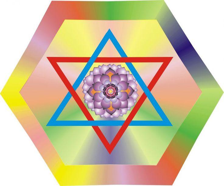 """Čtvrtá čakra lásky a moudrosti, """"Anahata"""", představuje energii srdce, vnímání života skrze srdeční centrum, vnímání pravdy. Spojuje člověka s vnějším světem"""