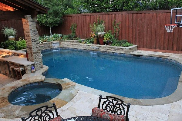 326 best pool Ideen images on Pinterest Decks, Swimming pools and - indoor pool bauen traumhafte schwimmbaeder