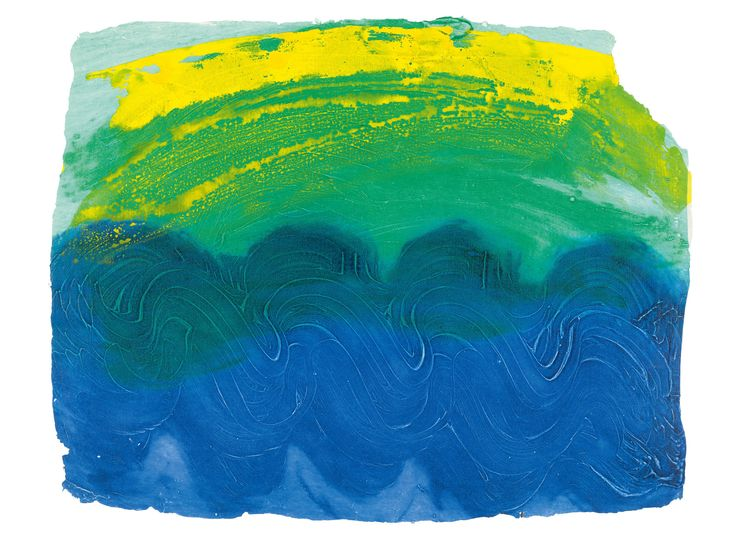 Howard Hodgkin was one of the most admired artists of the postwar period.Storm in Goa, 1990-91.