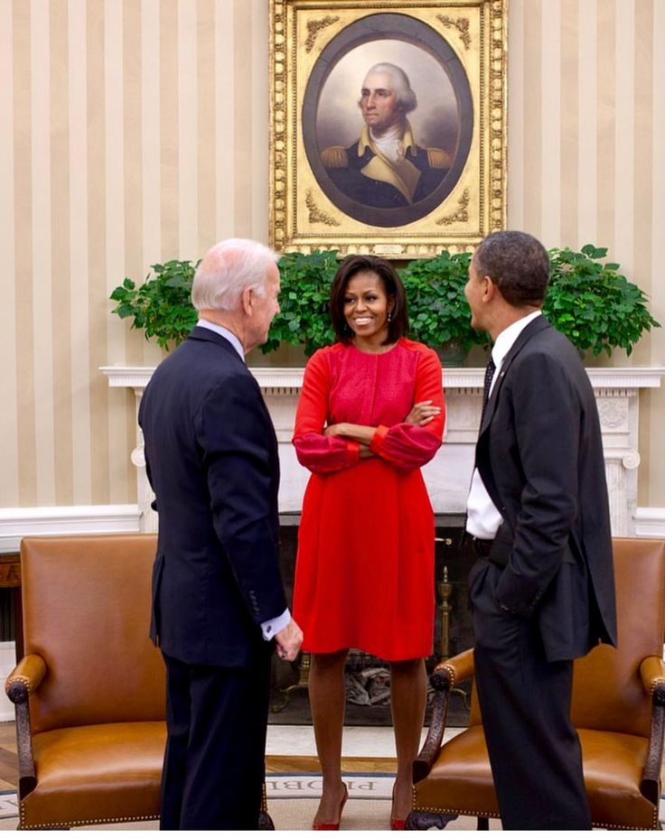 the Obama's and Joe Biden