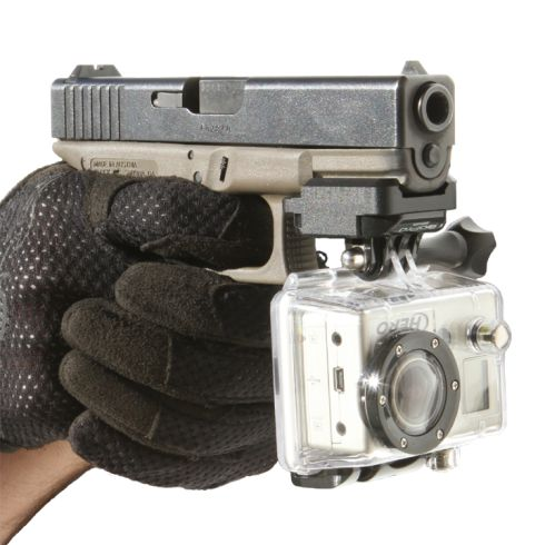 GoPro Pistol Mount. Gonna have to get one of these.