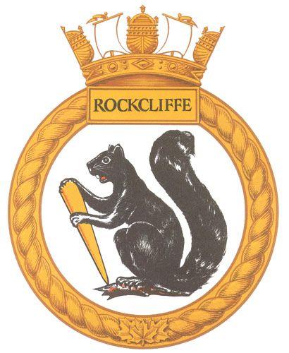 HMCS ROCKCLIFFE Badge - The Canadian Navy - ReadyAyeReady.com