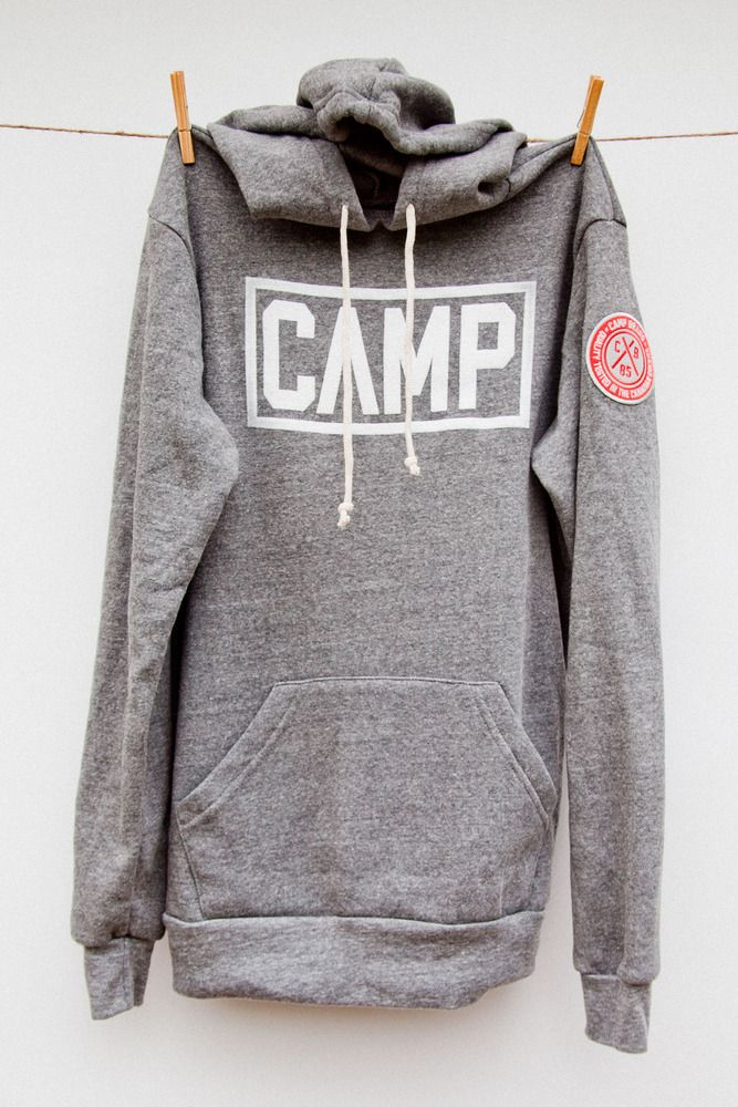 LK- Awesome Camp sweatshirt, looks like you could bundle in it like a boys!
