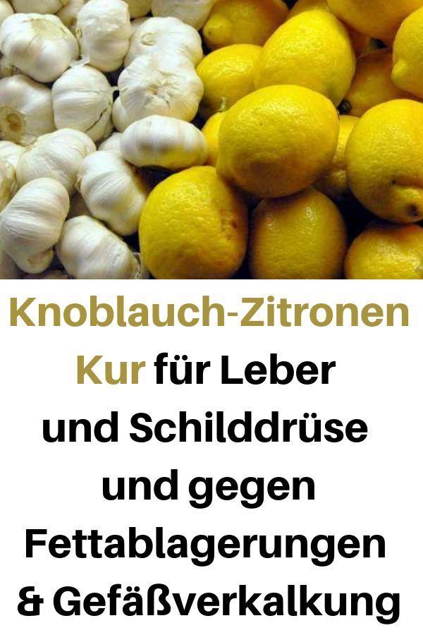 Gesundheit für Knoblauch und Zitrone, um Gewicht zu verlieren