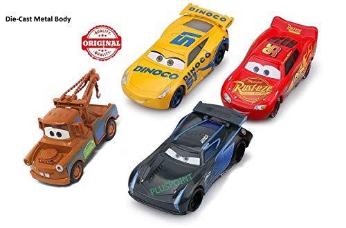 Pluspoint Cars3 Die Cast Metal Mcqueen Cruiz Ramirez Jackson