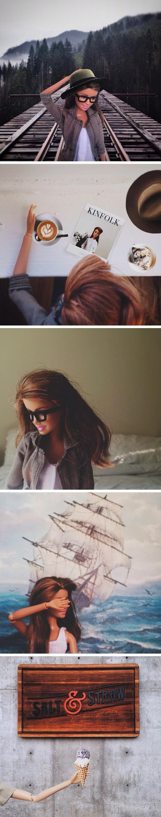 Socality Barbie imagines what it would look like if Barbie were a hipster
