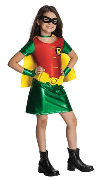 Girls Robin Costume - Batman Costumes