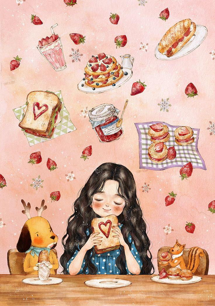"""애뽈 (Aeppol), """"Thinking of Strawberry Jam"""""""