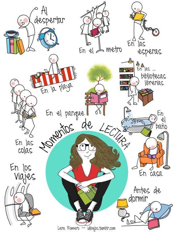 Momentos de #lectura (via @dimebarcelona) by Lara #Romero
