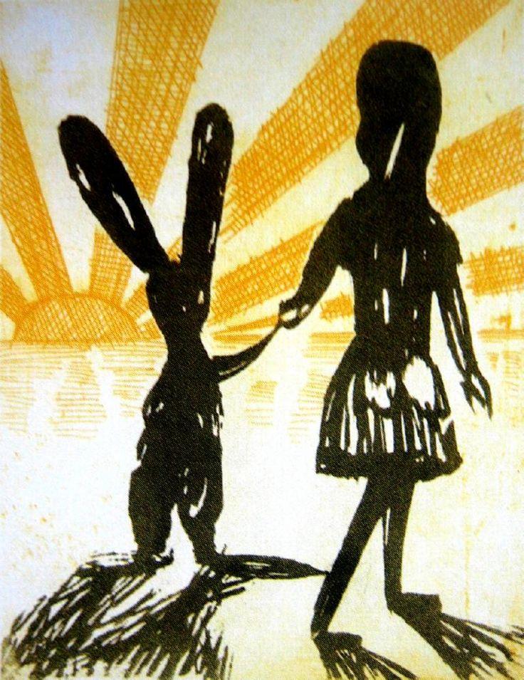 Alice's Farewell  ~  Charles Blackman  1956
