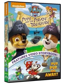 PAW PATROL: PUPS AND THE PIRATE TREASURE and free colouring sheets