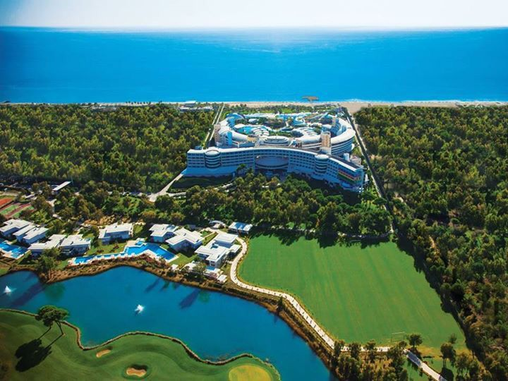 Uzijte luxusni golfovy zazitek..  #Cornelia #Belek #allinclusive #27jamek #privatniplaz #luxushotel #golf #turkish #resortspa