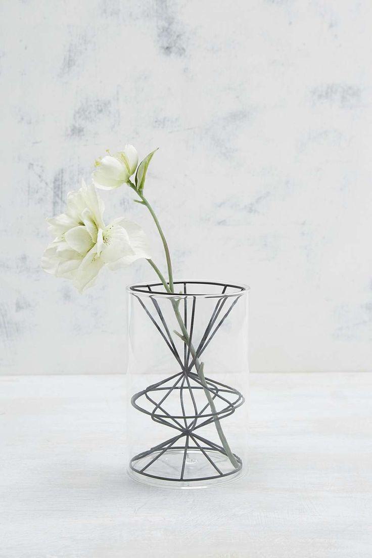 Glass Geo Vase
