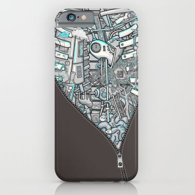 Crazy on the Inside iPhone & iPod Case by Lucy Corrina - $35.00