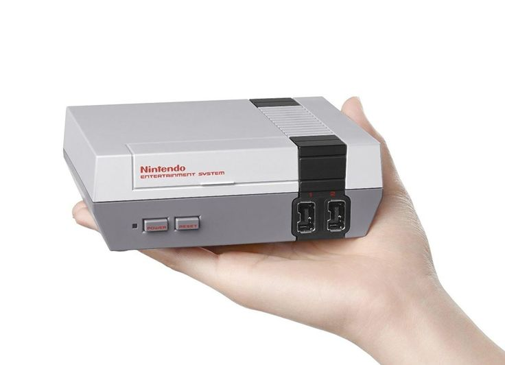 The Nintendo Mini, so small you can literally grab one with your right hand as you fork over your money with your left.