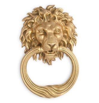 P.E. Guerin's No. 10060 Lion Door Knocker - featured recently in the Wall Street Journal