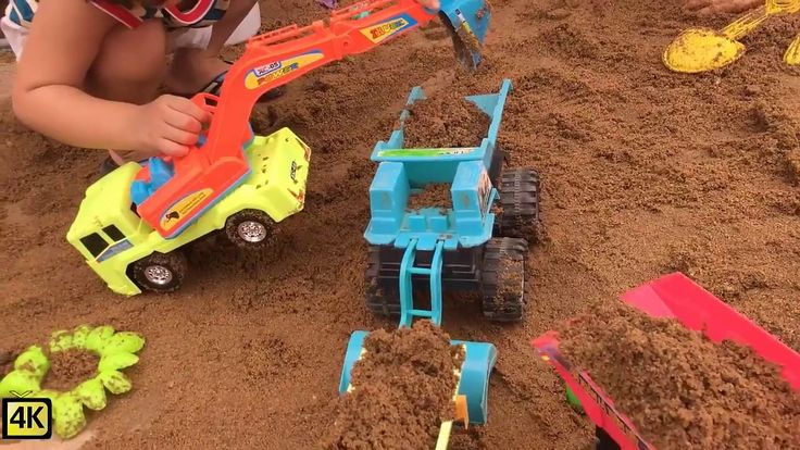 Trucks for kids | Playground Park Fun Place Kids| Outdoor games