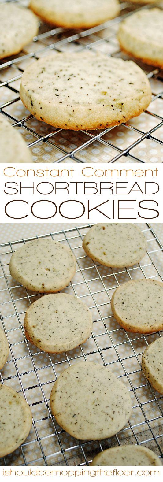 Shortbread Cookies | Delicious, orange-infused shortbread cookies ...