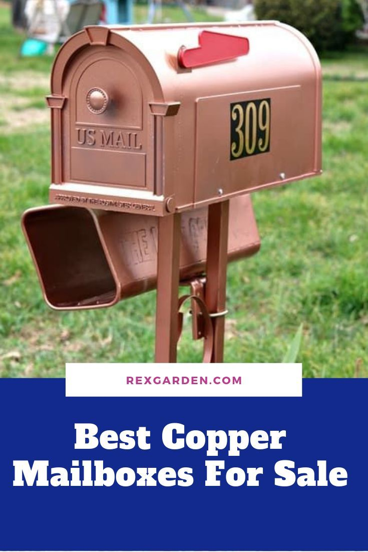 Best Copper Mailboxes For Sale Con Imagenes Casas Coloridas Casas